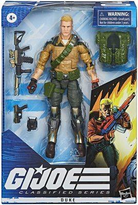 Фигурка Джи Ай Джо №04 Дюк с аксессуарами, премиум-класс G.I. Joe (Duke Action Figure Collectible 04 Premium Toy with Accessories) (фото, вид 1)