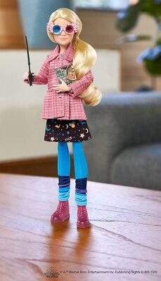 Кукла Луна Лавгуд (Полумна) - Гарри Поттер (Harry Potter Luna Lovegood Doll) (фото, вид 2)