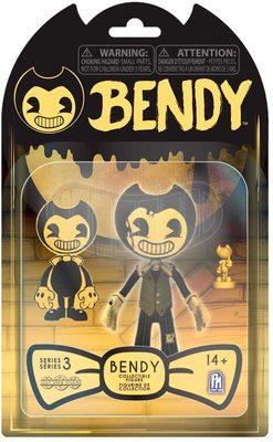 Фигурка Бенди - Бенди Темное Возрождение 3-серия (Bendy and The Dark Revival Action Figures (Cartoon Bendy)) (фото, вид 2)