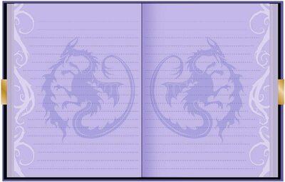 Дневник «Наследники Диснея» с замком и ключом, для фанатов Mal и Disney (Disney Descendants Mals Diary Journal Book for Girls) (фото, вид 1)