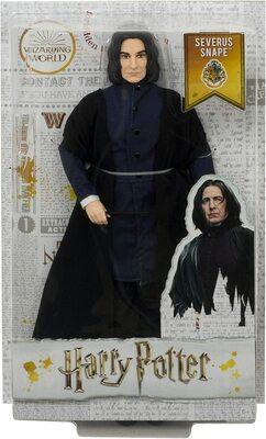 Кукла Северус Снейп в мантии волшебника - Гарри Поттер. (HARRY POTTER Collectible Severus Snape Doll) (фото, вид 1)