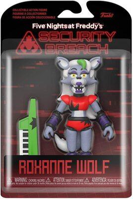 Роксана Волчица подвижная фигурка - Нарушение Безопасности. (Funko Action Figure: Five Nights at Freddy's, Security Breach - Roxanne Wolf) (фото, вид 1)