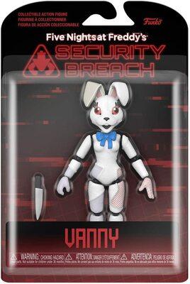 Ванни подвижная фигурка - Нарушение Безопасности (Funko Action Figure: Five Nights at Freddy's, Security Breach - Vanny) (фото, вид 1)