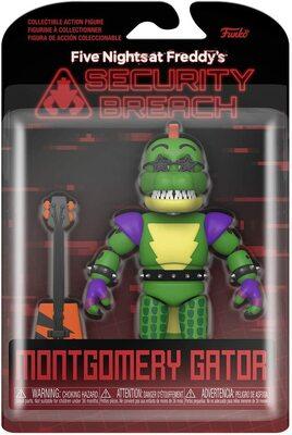 Аллигатор Монтгомери (Глэмрок Монти) - Нарушение Безопасности (Funko Action Figure: Five Nights at Freddy's, Security Breach - Montgomery Gator) (фото, вид 1)