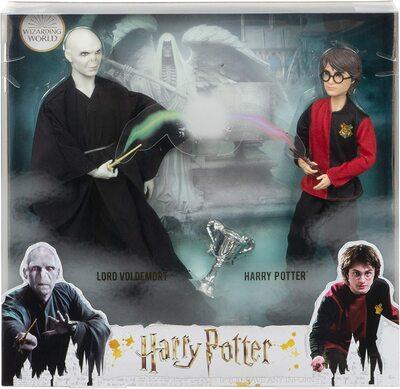Набор кукол «Дуэль Гарри Поттера и Лорда Волдеморта» - Гарри Поттер (HARRY POTTER: Lord Voldemort Dolls) (фото, вид 1)