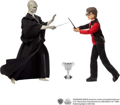Набор кукол «Дуэль Гарри Поттера и Лорда Волдеморта» - Гарри Поттер (HARRY POTTER: Lord Voldemort Dolls) (фото, вид 2)