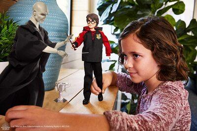 Набор кукол «Дуэль Гарри Поттера и Лорда Волдеморта» - Гарри Поттер (HARRY POTTER: Lord Voldemort Dolls) (фото, вид 3)