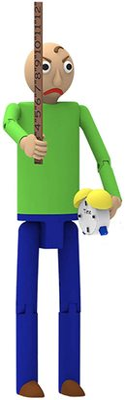 Фигурка Злой Балди из игры Балди Басикс (Baldi's Basics Action Figure (Angry Baldi)) (фото, вид 2)