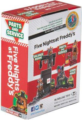 Запчасти и сервис - конструктор пять ночей с Фредди 39 дет. (McFarlane Toys Five Nights at Freddy's Parts and Service Micro Construction Set) (фото, вид 3)