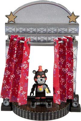 Звёздный занавес сцены - конструктор пять ночей с Фредди 72 дет. (McFarlane Toys Five Nights at Freddy's Star Curtain Stage Small Construction Set) (фото, вид 1)