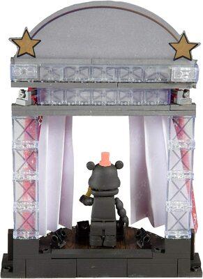 Звёздный занавес сцены - конструктор пять ночей с Фредди 72 дет. (McFarlane Toys Five Nights at Freddy's Star Curtain Stage Small Construction Set) (фото, вид 3)