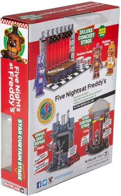 Звёздный занавес сцены - конструктор пять ночей с Фредди 72 дет. (McFarlane Toys Five Nights at Freddy's Star Curtain Stage Small Construction Set) (фото, вид 4)