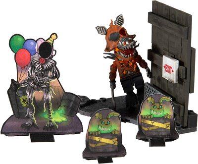 Кукурузный лабиринт - конструктор пять ночей с Фредди 38 дет. (McFarlane Toys Five Nights at Freddy's Corn Maze Micro Construction Set) (фото, вид 1)