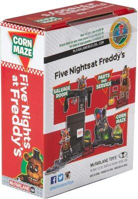 Кукурузный лабиринт - конструктор пять ночей с Фредди 38 дет. (McFarlane Toys Five Nights at Freddy's Corn Maze Micro Construction Set) (фото, вид 3)