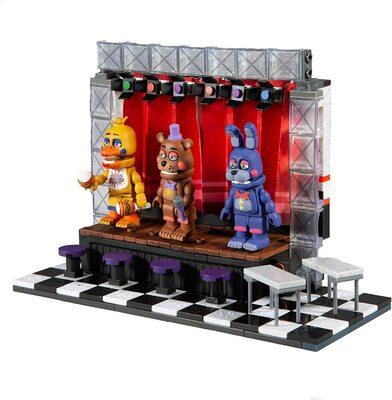 Концертная сцена Делюкс - конструктор пять ночей с Фредди 223 дет. (McFarlane Toys Five Nights at Freddy's Deluxe Concert Stage Large Construction Set) (фото, вид 1)