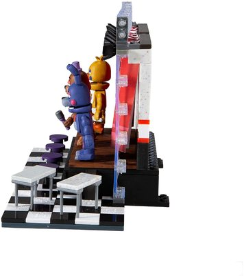 Концертная сцена Делюкс - конструктор пять ночей с Фредди 223 дет. (McFarlane Toys Five Nights at Freddy's Deluxe Concert Stage Large Construction Set) (фото, вид 2)
