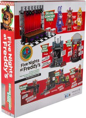Концертная сцена Делюкс - конструктор пять ночей с Фредди 223 дет. (McFarlane Toys Five Nights at Freddy's Deluxe Concert Stage Large Construction Set) (фото, вид 3)