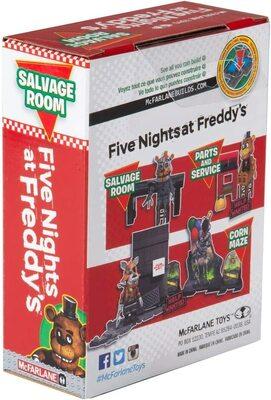 Комната Спасения - конструктор пять ночей с Фредди 32 дет. (McFarlane Toys Five Nights at Freddy's Salvage Room Micro Construction Set) (фото, вид 3)