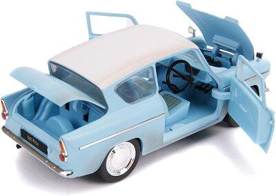 Кукла Гарри Поттер и литой автомобиль Форд Англия 1959 г., масштаб 1:24 (1:24 Harry Potter and 1959 Ford Anglia Die-Cast Vehicle) (фото, вид 1)