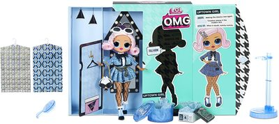 Кукла ЛОЛ О.М.G. Стильная Аптаун Гёл с 20 сюрпризами (LOL O.M.G. Uptown Girl Fashion Doll) (фото, вид 1)