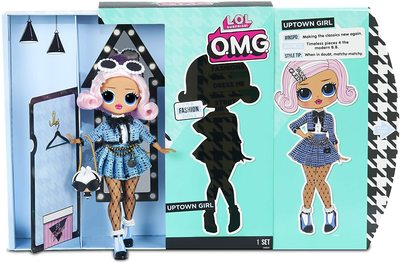 Кукла ЛОЛ О.М.G. Стильная Аптаун Гёл с 20 сюрпризами (LOL O.M.G. Uptown Girl Fashion Doll) (фото, вид 4)