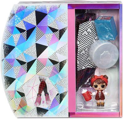 Кукла ЛОЛ О.М.G. Винте Чил Кэмп Кьюти с младшей сестренкой «Малышка в лесу» и 25 сюрпризами (LOL OMG Winter Chill Camp Cutie Fashion Doll) (фото, вид 3)