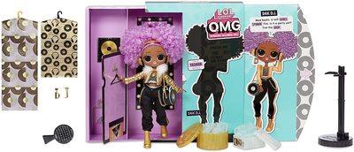 Кукла ЛОЛ Сюрприз О.М.G. Стильная 24K Ди Джей с 20 сюрпризами (LOL Surprise OMG 24K D.J. Fashion Doll with 20 Surprises) (фото, вид 1)