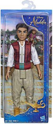 Кукла Аладдин с фигуркой обезьяны Абу - «Аладдин» - Дисней (Disney Aladdin Fashion Doll with Abu) (фото, вид 1)