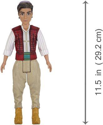 Кукла Аладдин с фигуркой обезьяны Абу - «Аладдин» - Дисней (Disney Aladdin Fashion Doll with Abu) (фото, вид 2)