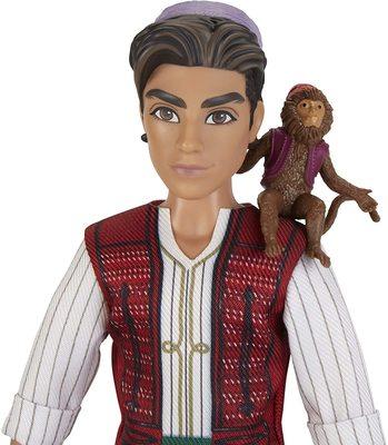Кукла Аладдин с фигуркой обезьяны Абу - «Аладдин» - Дисней (Disney Aladdin Fashion Doll with Abu) (фото, вид 3)