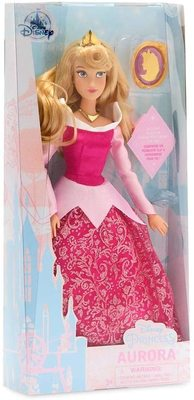 Кукла Принцесса Аврора с подвеской - «Спящая Красавица» - Дисней (Disney Aurora Classic Doll with Pendant – Sleeping Beauty) (фото, вид 1)