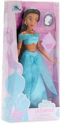 Кукла Жасмин с подвеской - «Аладдин» - Дисней (Disney Jasmine Classic Doll with Pendant – Aladdin) (фото, вид 1)