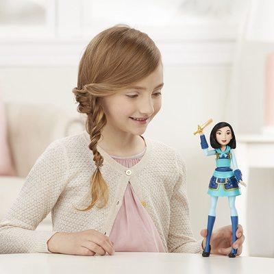 Кукла Мулан с мечом Делюкс - «Мулан» - Дисней (Disney Princess Fearless Adventures Mulan) (фото, вид 2)