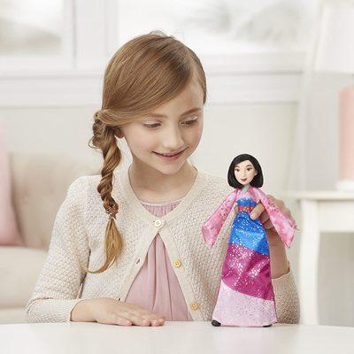 Кукла Мулан с мечом Делюкс - «Мулан» - Дисней (Disney Princess Fearless Adventures Mulan) (фото, вид 3)