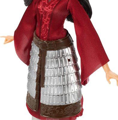 Кукла Мулан модельная в юбке-броне и с аксессуарами - «Мулан» - Дисней (Disney Mulan Fashion Doll) (фото, вид 1)