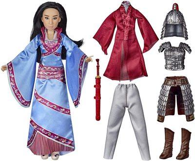 Кукла Мулан с двумя комплектами одежды и аксессуарами - «Мулан» - Дисней (Disney Mulan Two Reflections Set, Fashion Doll with 2 Outfits and Accessories) (фото, вид 4)