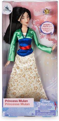 Кукла Мулан с кольцом - «Мулан» - Дисней (Disney Mulan Classic Doll with Ring) (фото, вид 1)