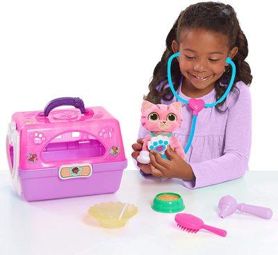 Игровой набор Переноска с котом - «Доктор Плюшева» - Дисней (Doc McStuffins Toy Hospital On-The-Go Pet Carrier, Whispers) (фото, вид 1)