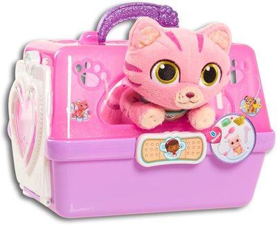 Игровой набор Переноска с котом - «Доктор Плюшева» - Дисней (Doc McStuffins Toy Hospital On-The-Go Pet Carrier, Whispers) (фото, вид 2)