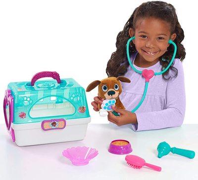 Игровой набор Переноска с собачкой - «Доктор Плюшева» - Дисней (Doc McStuffins Toy Hospital On-The-Go Pet Carrier, Findo) (фото, вид 1)
