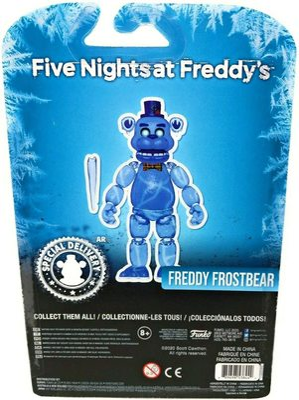 Фредди - Морозный медведь - Пять ночей с Фредди. (Five Nights at Freddy's Articulated Freddy Frostbear Action Figure) (фото, вид 1)