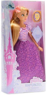 Кукла Рапунцель с подвеской - Рапунцель - Дисней (Rapunzel Classic Doll with Pendant) (фото, вид 1)