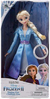 Кукла Эльза - Холодное сердце 2 - Дисней (Disney Elsa Singing Doll - Frozen II) (фото, вид 1)