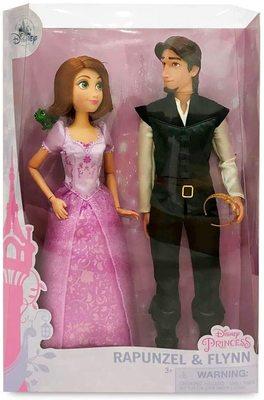 Набор: куклы Рапунцель и Юджин (Флин) - Рапунцель - Дисней (Rapunzel and Flynn Classic Doll Set) (фото, вид 1)