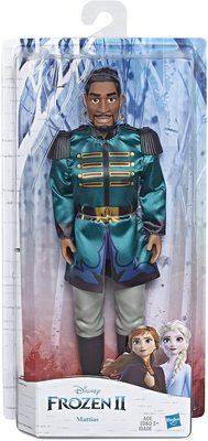 Кукла лейтенанта Маттиаса - Холодное сердце 2 - Дисней (Disney Frozen Mattias Fashion Doll) (фото, вид 1)