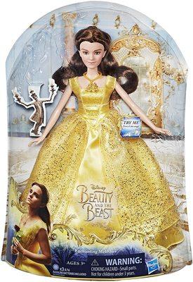 Кукла Белль поющая - Спящая красавица - Дисней (Disney Beauty and the Beast Enchanting Melodies Belle) (фото, вид 1)