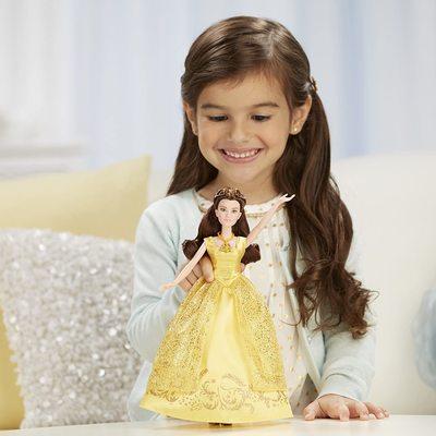 Кукла Белль поющая - Красавица и Чудовище - Дисней (Disney Beauty and the Beast Enchanting Melodies Belle) (фото, вид 2)