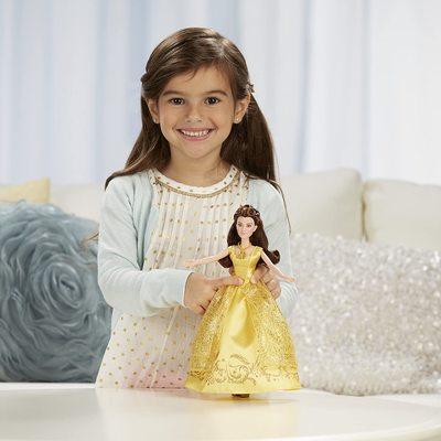 Кукла Белль поющая - Красавица и Чудовище - Дисней (Disney Beauty and the Beast Enchanting Melodies Belle) (фото, вид 3)