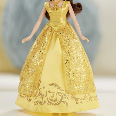 Кукла Белль поющая - Спящая красавица - Дисней (Disney Beauty and the Beast Enchanting Melodies Belle) (фото, вид 4)
