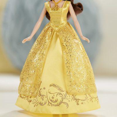 Кукла Белль поющая - Красавица и Чудовище - Дисней (Disney Beauty and the Beast Enchanting Melodies Belle) (фото, вид 4)
